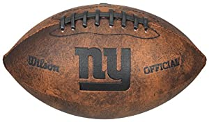 Wilson NFL Throwback Junior Fußball -  York Giants from Wilson