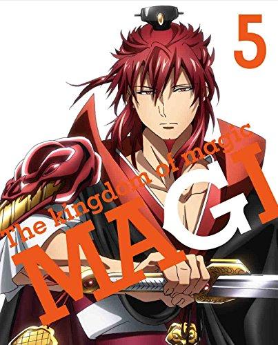 マギ The kingdom of magic 5(完全生産限定版) [DVD]