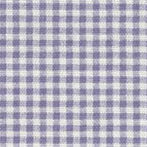 French Country Lavender Gingham Check Queen Reversible Duvet Cover front-965702