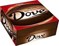 DOVE Dark Chocolate Singles Size Cand…