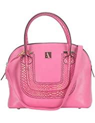 Adamis Beautiful Designed Handbag (Pink_B710)