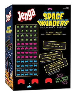 JENGA Space Invaders Collector?s Edition Game