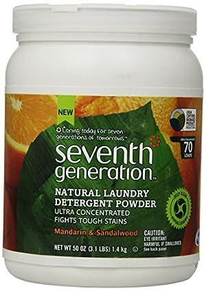 Seventh Generation  Natural Laundry Detergent Powder