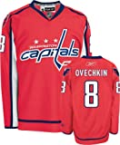 NHL Reebok Alexander Ovechkin Washington Capitals Premier NHL Player Jersey - Red