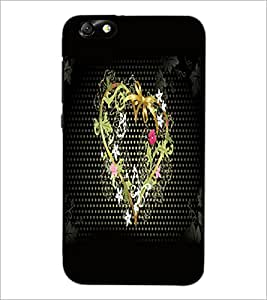 HUAWEI HONOR 4X HEART Designer Back Cover Case By PRINTSWAG