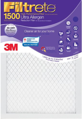 3M Filtrete Ultra Allergen Reduction FPR9 Air Furnace Filter 20