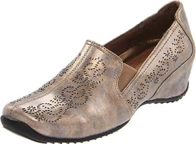 Easy Street Women's Premier Slip-On Loafer,Bronze,5 M US
