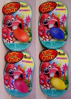 SILLY PUTTY BRIGHT COLORS - 1 Pack (Comes in any 1 of the fun Superbright colors)