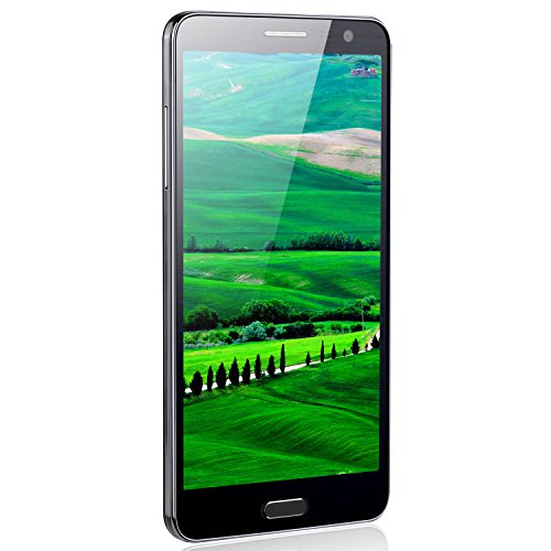 Unlocked Note4 JYL 55 HD Android 44 OS 3G Smartphone Unlocked Cell Phone Android Phones Dual SIM - Quad Core - WiFi - GPS - Dual Camera - 14G BlackColor