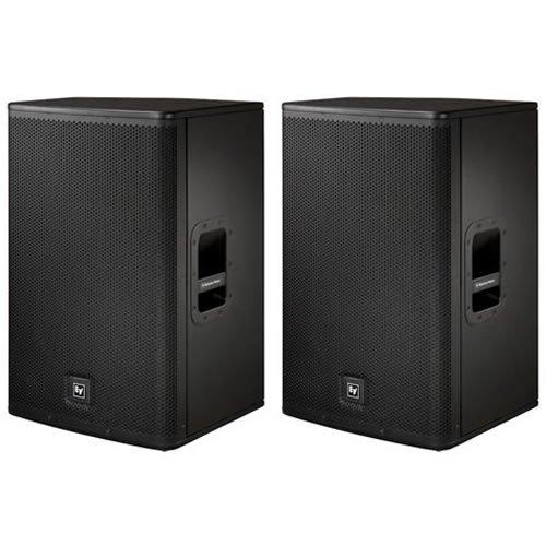 "Ev Electro Voice Elx115 15"" Passive Dj Pa Monitor Speakers Pair Elx-115 New"