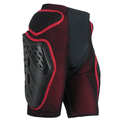 For Sale! Alpinestars Bionic Freeride Shorts (Black/Red, X-Large)