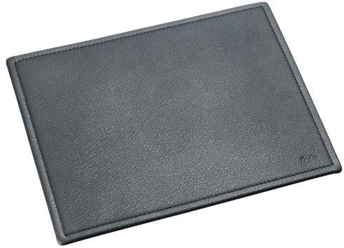 laufer-37436-ambiente-scala-mouse-pad-21-x-26-cm-aus-echtem-leder-schwarz