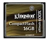 Kingston Digital CompactFlash Ultimate 600x 16 GB Flash Drive CF/16GB-U3