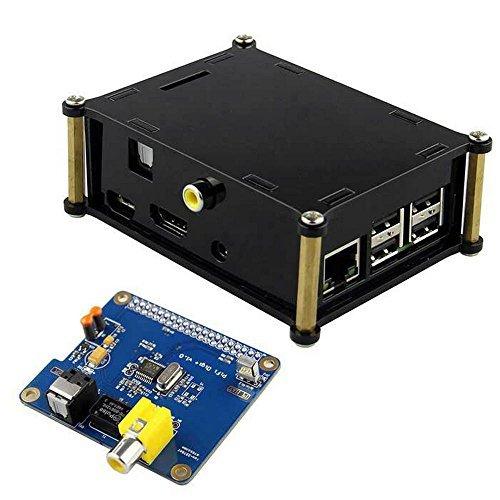 SainSamrt HIFI DiGi+ Digital Sound Card I2S SPDIF Optical Fiber + Case for Raspberry Pi 2 (Arduino Raspberry Pie compare prices)