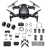 DJI Mavic Air Fly More Combo, Onyx Black (2018 Version), 3-Filter Set, Landing Gear and More (Black) (Color: Black)