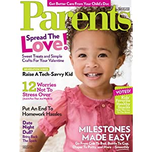 1 Year Parents Magazine Subscription