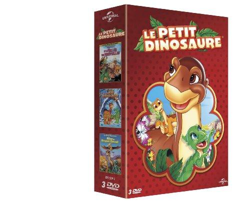 Coffret le Petit Dinosaure - Le petit dinosaure et la vall�e des merveilles + La pluie d'�toiles glac�es + Le jour du grand envol
