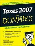 Taxes 2007 For Dummies (Taxes for Dummies)