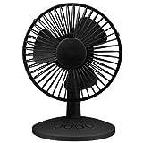 ハイパワーUSB扇風機 FANSWB ブラック