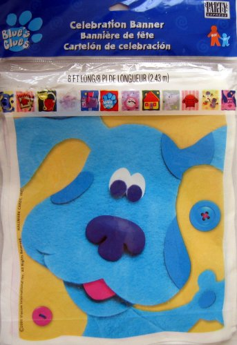 Buy Blue's Clues Celebration Banner – 8 Feet Long