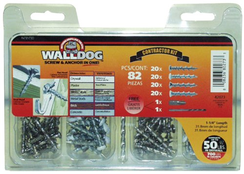 The Hillman Group 42073 WallDog Contractor Kit picture