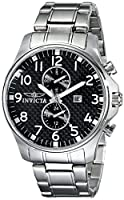 Invicta Men's 0379 II Collection Stainless Steel Watch from Invicta