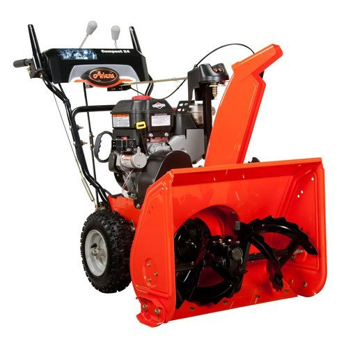 Best Small Electric Snow Blower : Video review ariens compact inch cc stage