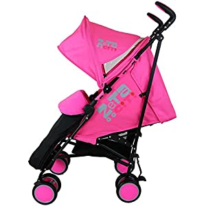 Zeta Citi Stroller Buggy Pushchair - Raspberry Pink (Complete With Footmuff + Raincover) from Baby Travel