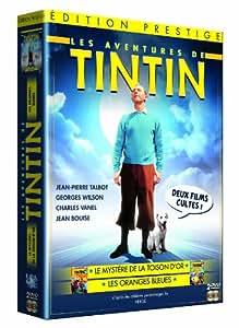 Tintin - Coffret 2 films : Tintin et le Mystère de la Toison d'or / Tintin et les Oranges bleues
