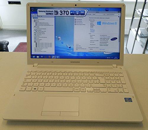 Samsung 370r5e 156 inch laptop sleek white intel core i3 3110m 240ghz processor 6gb ram 500gb hdd lan wlan bt webcam hd integrated graphics windows 8