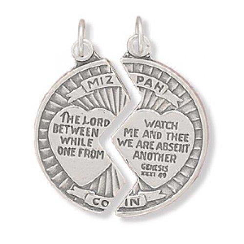 MMA Silver - Mizpah Break Apart Coin Charm