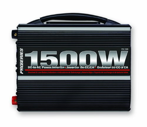 Schumacher PSI-1500 DSR ProSeries 1500 Watt Analog Power Inverter