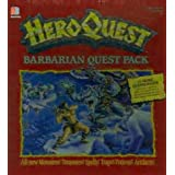 "BARBARIAN QUEST - The Frozen Horror, Hero Quest Erweiterungs-Set (mit 10 neuen Quests)von ""QUEST, Frozen, Horror,..."""