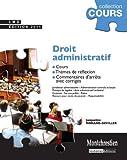 echange, troc Jacqueline Morand-Deviller - Droit administratif : Cours, thèmes de réflexion, commentaires d'arrêts avec corrigés