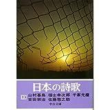 日本の詩歌 (13) 山村暮鳥 福士幸次郎 千家元麿 百田宗治 佐藤惣之助 (中公文庫)