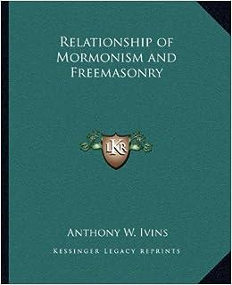 relationship of mormonism and freemasonry