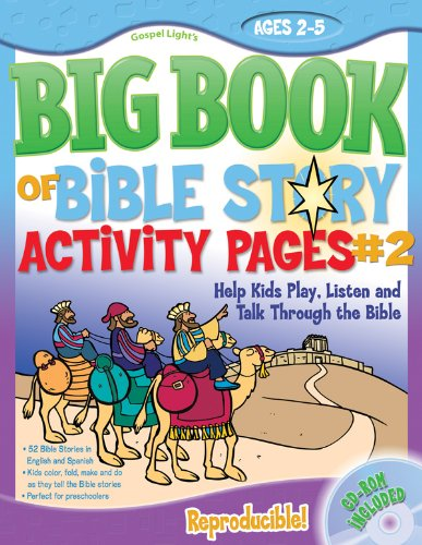 The Big Book of Bible Story Activity Pages #2: Help Kids Play, Listen and Talk Through the Bible (Big Books)