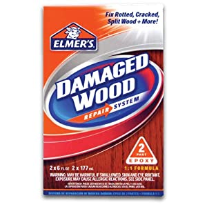 Elmer S E761l Damaged Wood Repair System 12 Ounce Wood