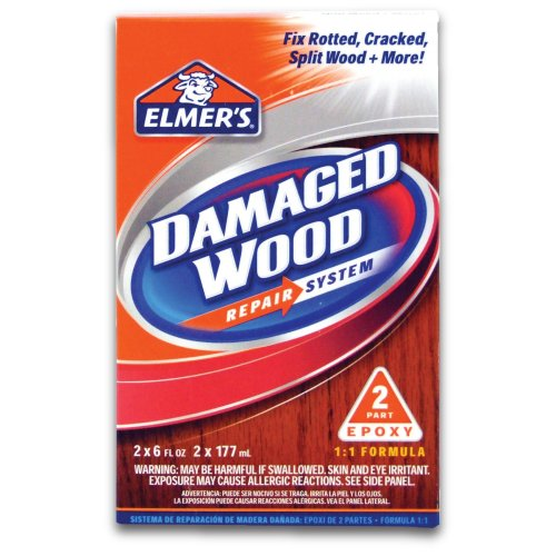 Elmer's E761L Damaged Wood Repair System 12-Ounce