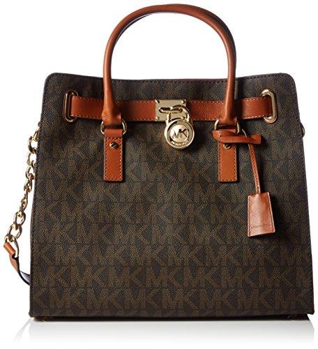 michael-korshamilton-large-logo-tote-bolsa-de-asa-superior-mujer-color-marron-talla-35x33x15-cm-b-x-