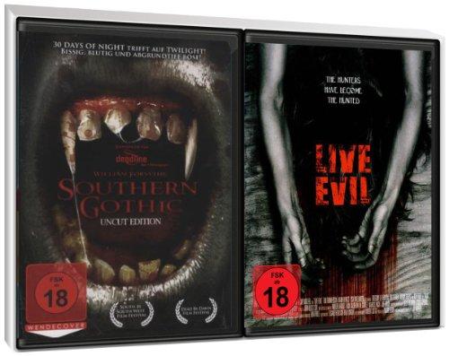 FSK 18 Spar-Set 2DVDs Vampire : Southern Gothic + Live Evil - Die Jagd hat begonnen