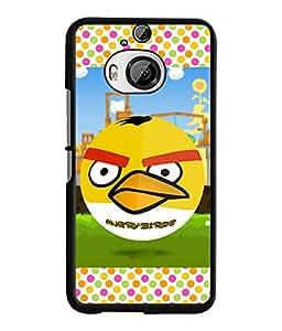 Fuson 2D Printed Cartoon Designer back case cover for HTC One M9 Plus - D4477