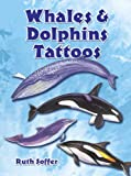 img - for Whales and Dolphins Tattoos (Dover Tattoos) book / textbook / text book