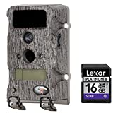 Wildgame Innovations Blade X6 Trail Camera, Bark + Compatible High Speed Lexar Platinum II 16 GB Class 10 SD Card Bundle
