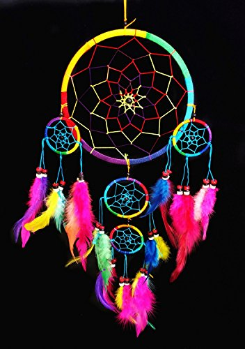 Handmade Dream Catcher Wall Hanging Ornament (With a Betterdecor Gift Bag)-bl95