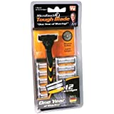Micro Touch 3 Tough Blade As Seen on TV for 1 Year of Shaving