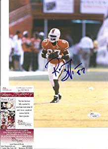 Reggie Wayne Miami Hurricanes Autographed Signed 8x10 Photo W JSA by Hollywood+Collectibles