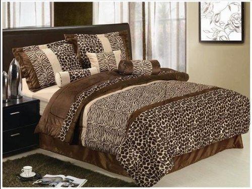 Giraffe Print Comforter Set