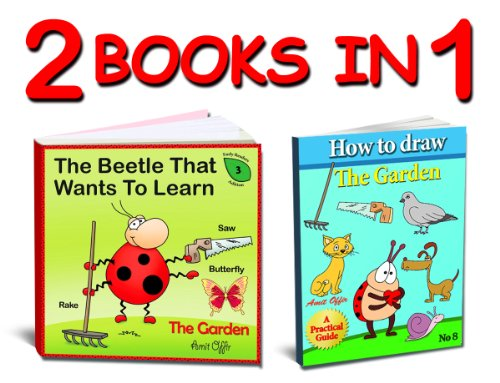 Learn How to Draw the Garden Step by Step and its First New Words - Activities for the Whole Family (Activity Book Collections for Kids 4) (How To Draw The Garden compare prices)