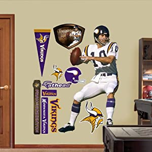 NFL Minnesota Vikings Fran Tarkenton Wall Graphics by Fathead